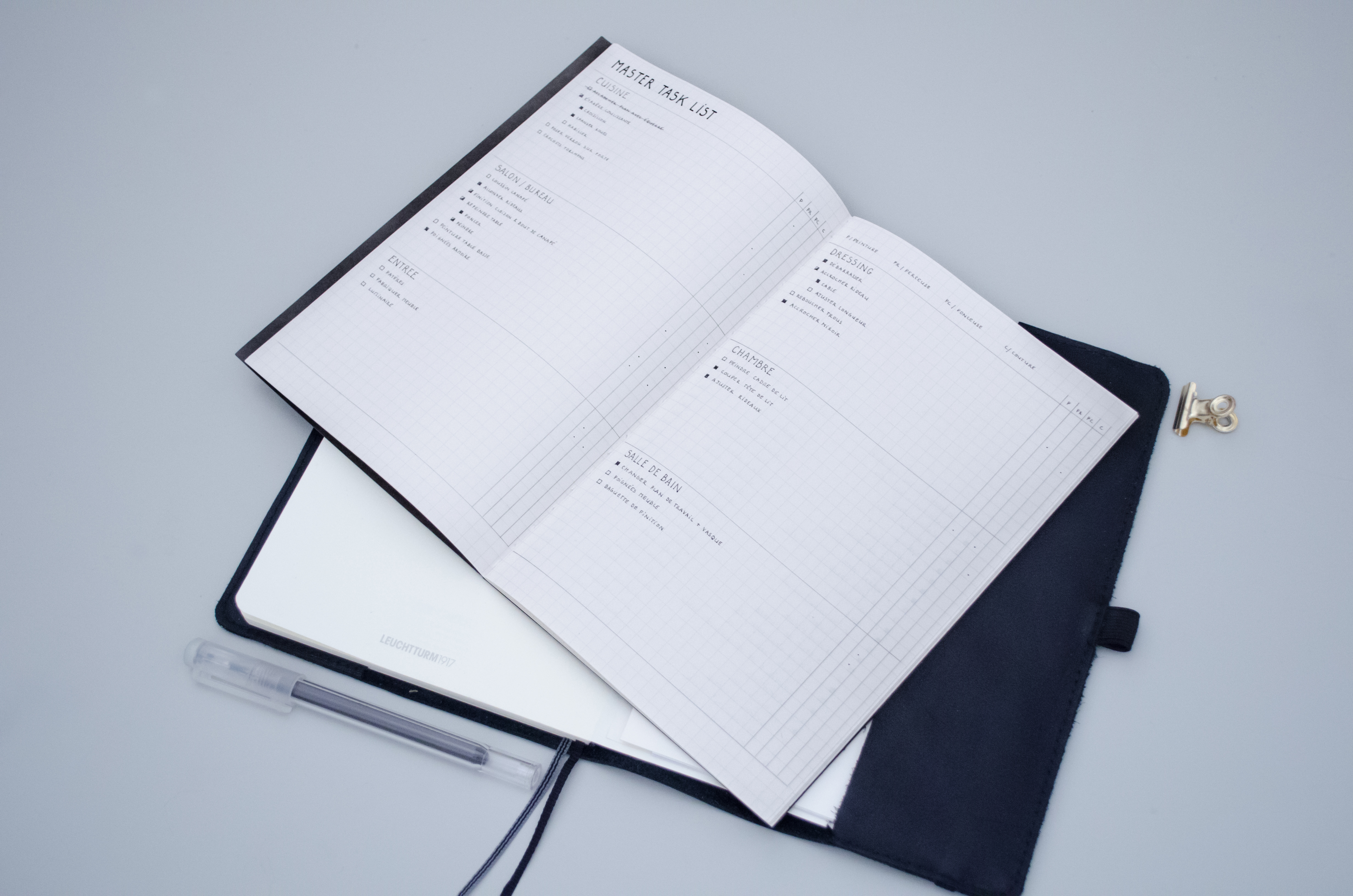 3 mani res d 39 indexer le contenu de son bullet journal. Black Bedroom Furniture Sets. Home Design Ideas