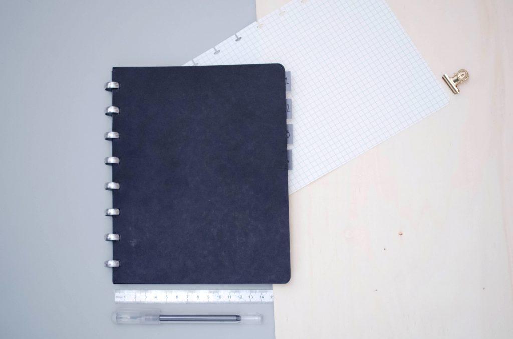 Carnet Atoma pour bullet journal professionnel, carnet de note flexible
