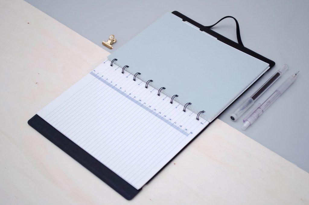 Filofax notebook review, filofax as a bullet journal