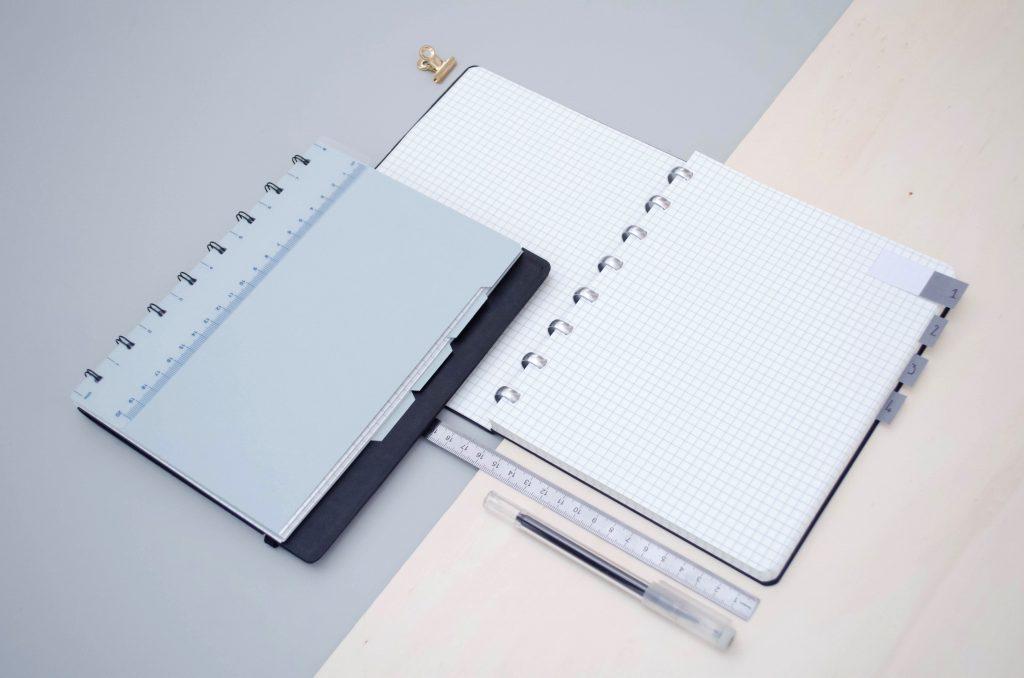Filofax notebook et carnet Atoma, revue comparative