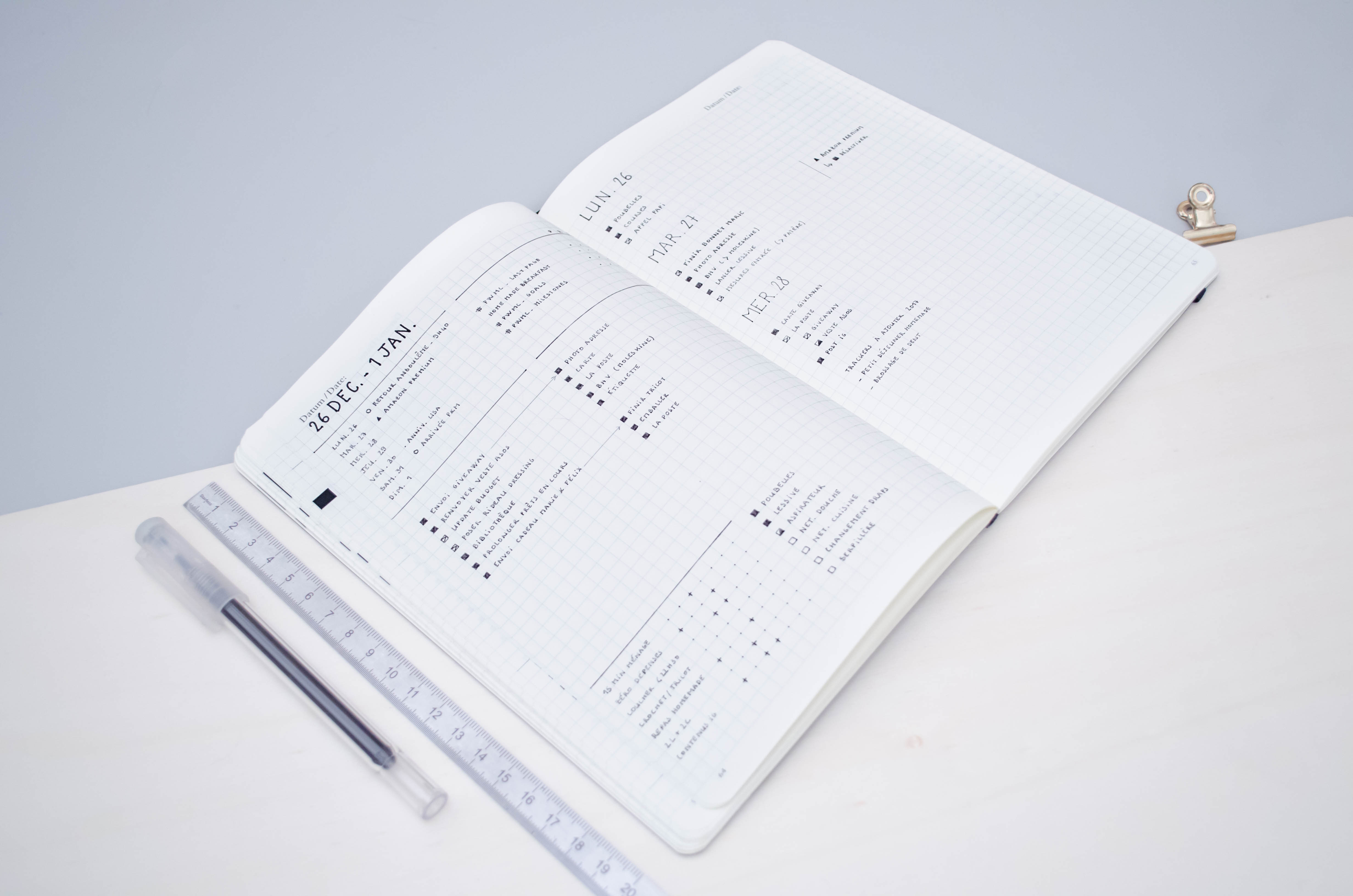 Calendar Layout Bullet Journal : My weekly layout journey logs i tried minimal plan