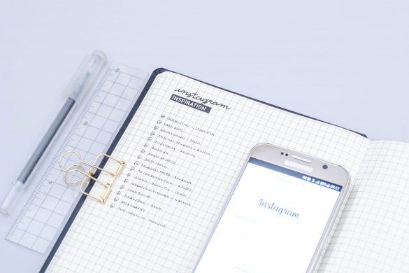 bullet journl minimaliste, instagram minimaliste bullet journal
