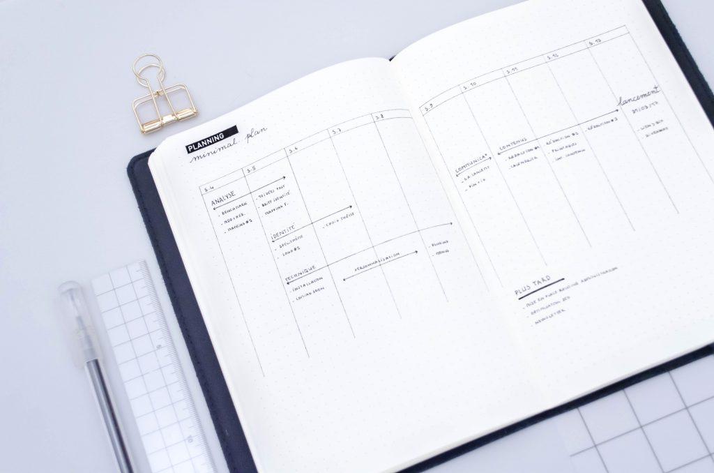 planning projet, plan d'action, gestion de projet