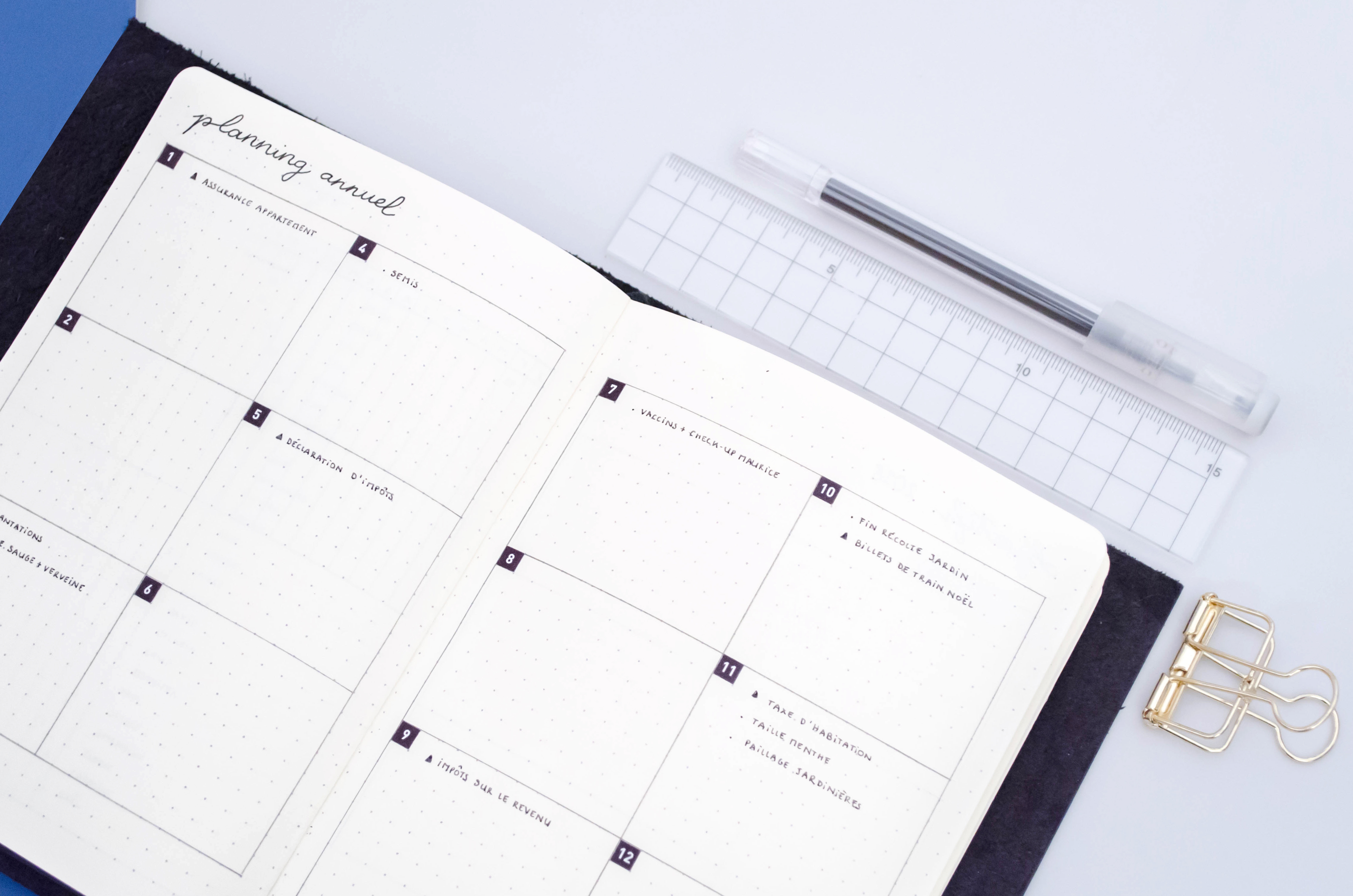Calendrier 2019 Bullet Journal.2018 Bullet Journal Supplies Planning Process And Set Up