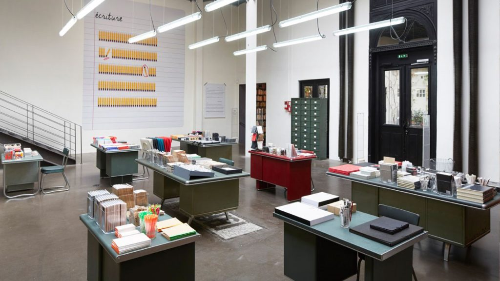 paris stationery shops merci concept store
