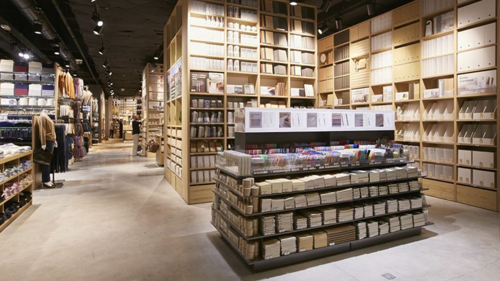 paris stationery shops muji