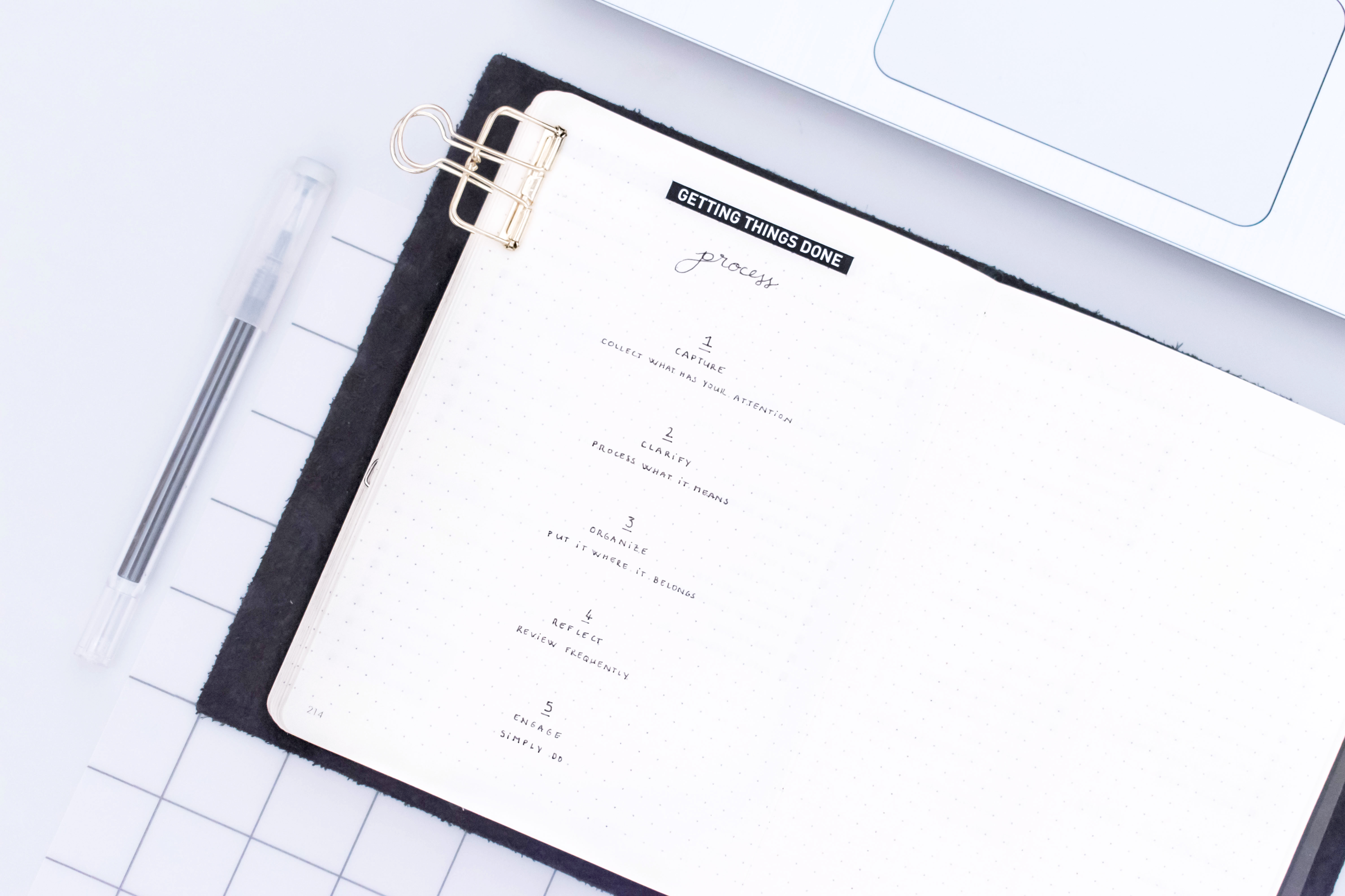 GTD + bullet journal: the perfect organization combo