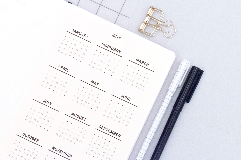 Calendrier Bullet Journal 2020.Fichiers Gratuits 2019 Minimal Plan Plan Achieve Repeat