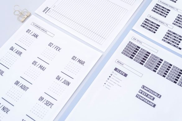 fichiers imprimables gratuits, inspiration bullet journal, stickers bullet journal