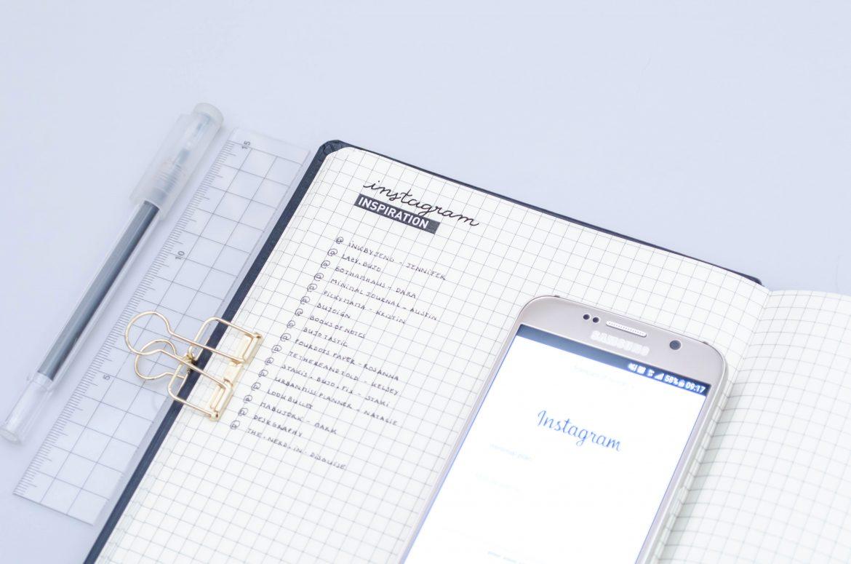 bullet journl minimaliste, instagram minimaliste bullet journal